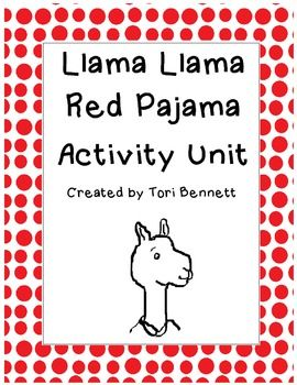 Llama Llama Red Pajama Activity Unit Llama Llama Red Pajama Red
