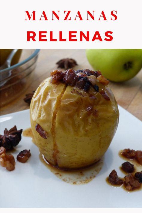 receta de manzanas asadas al horno facil y rapido