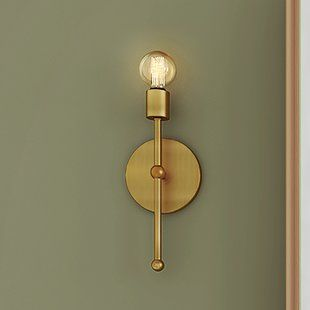 Brass And Gold Wall Lights Sconces Sconce Lighting Wall Sconce