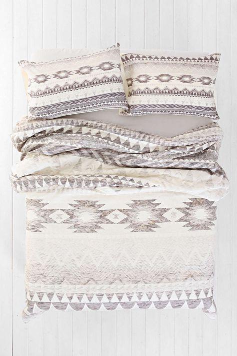 Iveta Abolina for DENY Milky Way Duvet Cover - Urban Outfitters neutral aztec…