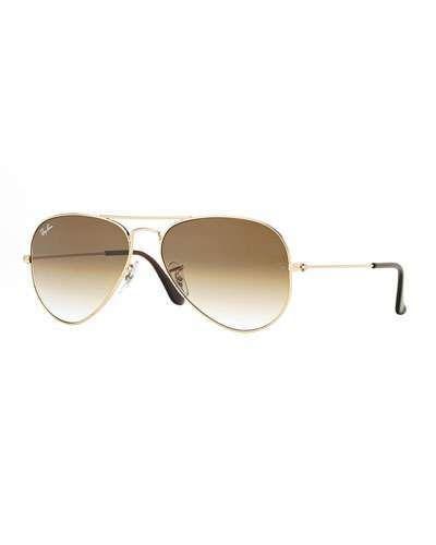 Ray Ban Metal Aviator Sunglasses Gold Light Brown Metal Aviator Sunglasses Ray Ban Aviators Ray Ban Aviators Women
