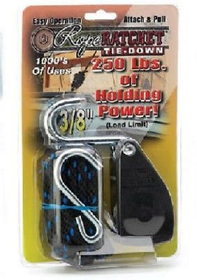 Tie Downs And Straps 85917 Carolina North 2 Pack 3 8 Rope Ratchet W 8 Rope Hook Buy It Now Only 29 44 On Ebay Downs Straps With Images Ratchet Mfg Ebay