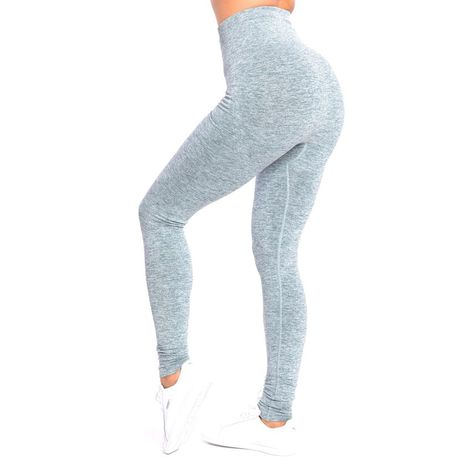 SMILODOX Leggings Damen Sport Fitness Gym Freizeit Yoga Training Stretch Tight
