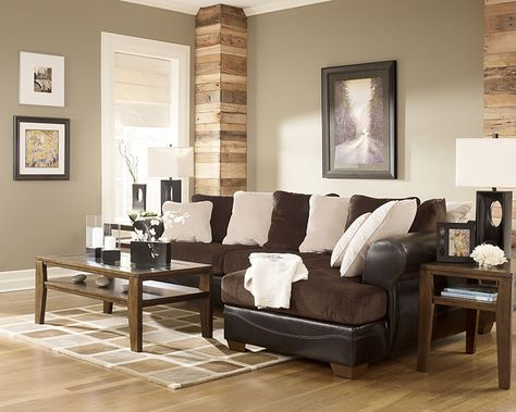 Strange Living Room Inspiration I Like The Brown Tan And White Evergreenethics Interior Chair Design Evergreenethicsorg