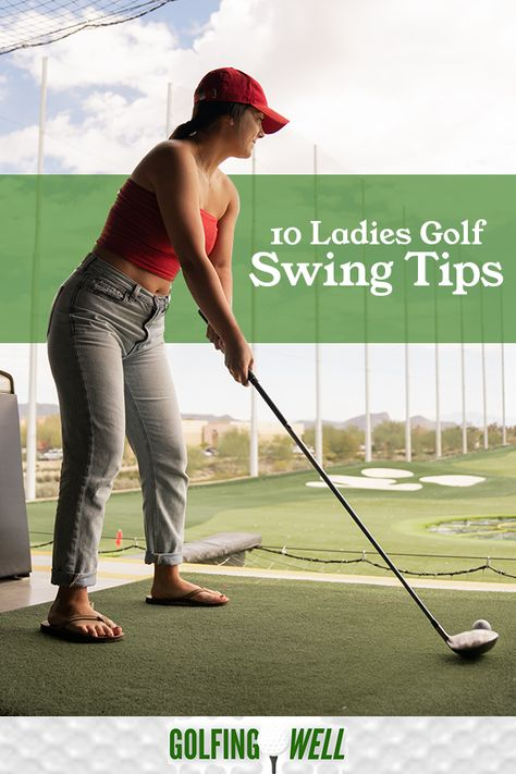 As you master your golf skills, the game becomes more enjoyable. Among the essential thing to note about golf is that every detail of your movement can affect your shot. Womens Golf Wear, Womens Golf Shirts, Golf Costumes, Nascar Costume, Ladies Golf Bags, Girls Golf, Golf Tips For Beginners, Golf Lessons, Play Golf
