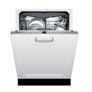 Bosch 300 Series 24 In Custom Panel Ready Top Control Tall Tub Dishwasher With Stainless Steel Tub And 3rd Rack 44dba Shvm63w53n The Home Depot In 2021 Built In Dishwasher Integrated