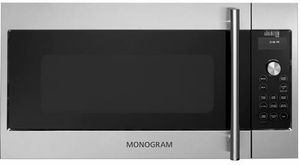 Zsa1201jss Monogram Advantium 120 Above The Cooktop Speedcooking Oven With 300 Cfm Venting Stainless With Images Microwave Oven Over The Range Microwaves Range Microwave