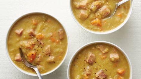 Instant Pot® Split Pea Soup with Ham