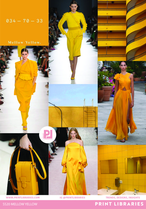 Mild Yellow 2020 Trend Board - #board #Mild #trend #yellow