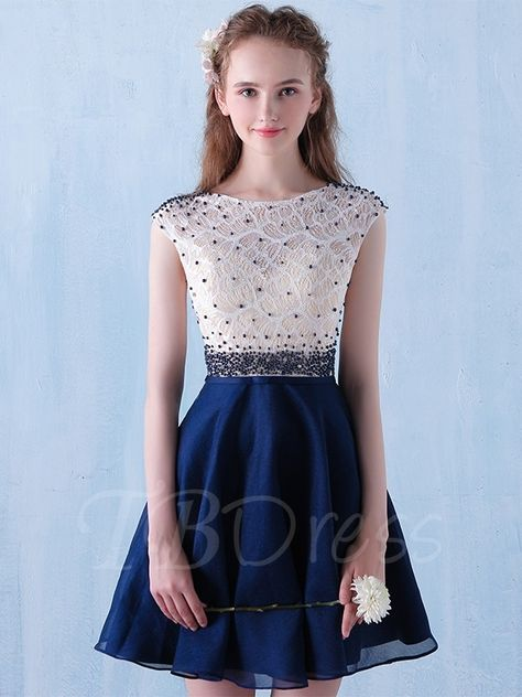d39d9ba30e0 Tbdress.com offers high quality A-Line Scoop Beading Lace Short Cocktail  Dress Sexy Cocktail Dresses unit price of   125.99.