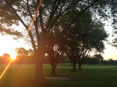I love Sunrise! It is my morning view overlooking golf course.
