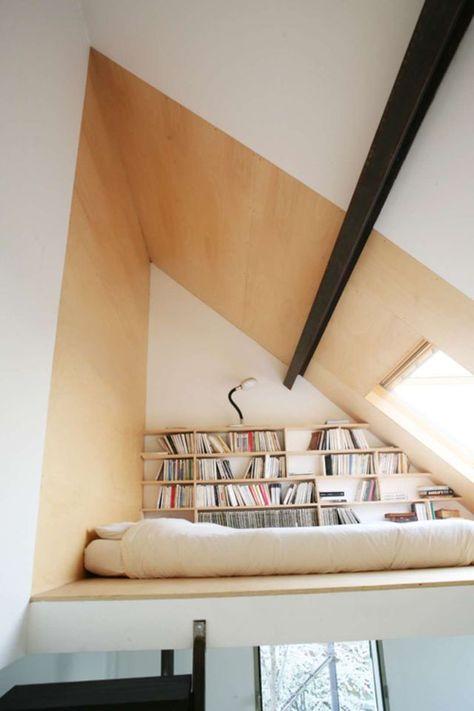 Chambre sous combles : 10 idées d\'aménagement | Chambre sous ...