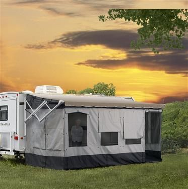 The Vacation R Rv Awning Room Screenroom Size 18 To 19 Camper Awnings Camping Camping Cot