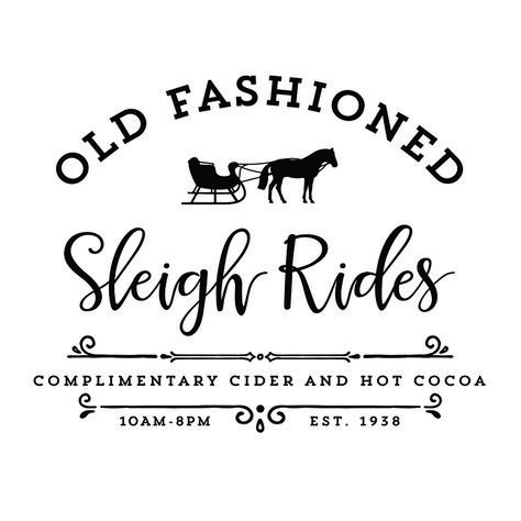 Create your own sign with this Old Fashioned Sleigh Rides SVG File! Merry Christmas, Fresh Christmas Trees, Christmas Tree Farm, Rustic Christmas, All Things Christmas, Vintage Christmas, Christmas Holidays, Christmas Decorations, Christmas Scenes