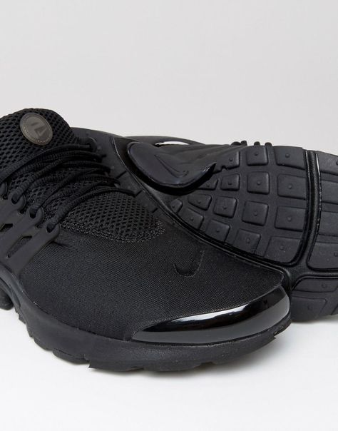 super cheap best prices premium selection Nike | Nike Air Presto Trainers In Black 848132-009 at ASOS ...