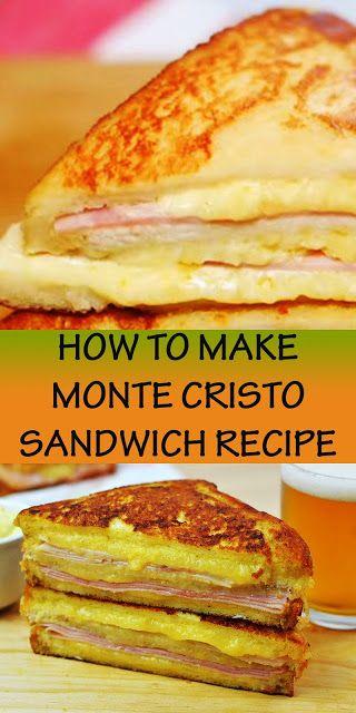 New Light Responsive Blogger Template Monte Cristo Sandwich Monte Cristo Sandwich Recipe Sandwich Recipes