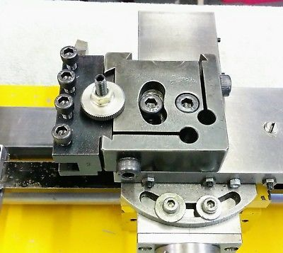 Quick change toolpost for Hobbymat MD65 Lathe   Hobbymat