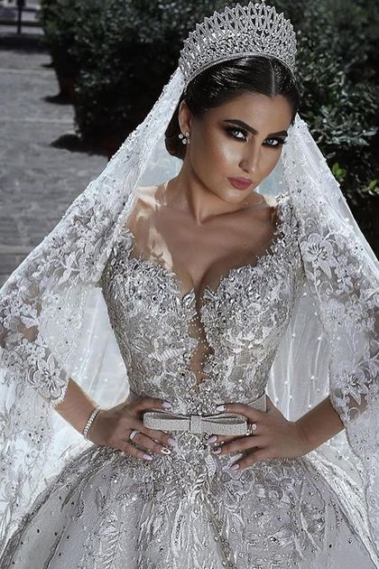 Buy Sexy Ball Gown Sweetheart Long Sleeve Lace Appliques Tulle Long Wedding Dresses uk in uk.Shop our beautiful collection of unique and convertible long Prom dresses from PromDress.uk,offers long bridesmaid dresses for women in the UK.