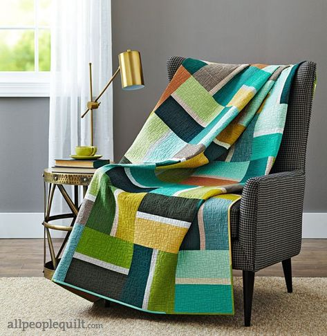 Easy Going Quilt by Christa Watson - for nephew