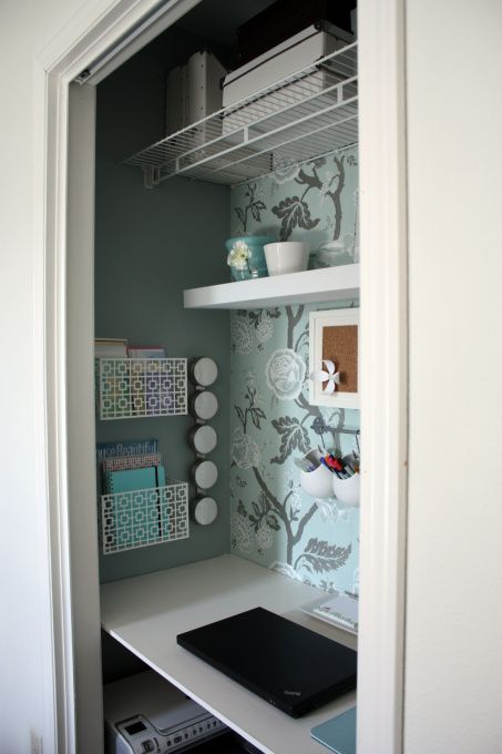 Attractive Neat Idea For The Closet | Stunning Office Chairs | Pinterest | Room,  Bedrooms And Closet Desk