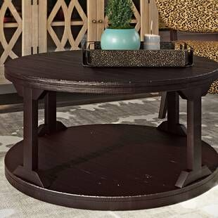 Darby Home Co Eastin Coffee Table With Nested Stools Coffee Table Coffee Table Farmhouse Coffee Table Square