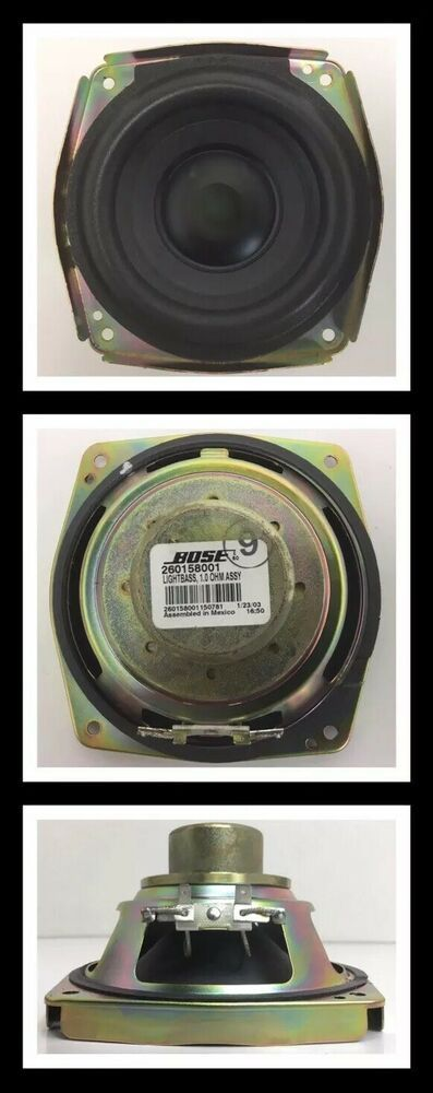 """Bose Auto Speakers : speakers, Woofer-Subwoofer, Replacement, 3/4""""Diagonal, Speaker, #bose, Subwoofer,, Ohms,"""
