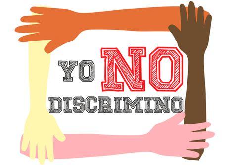 Estamos Unidos A La Campaña Social Yonodiscrimino Ayúdanos A Hacerlo Viral Di No A La Discriminación Spanish Classroom Risk Management Social Justice