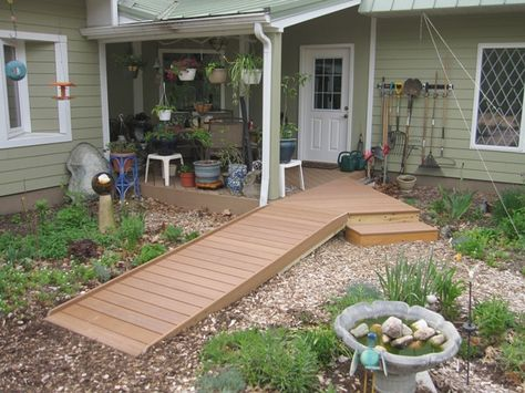 Good Wheelchair Ramp, Wheelchair Access, Deck Ramp, Wheelchair Deck, Accessible  Deck. | Home Access | Pinterest | Wheelchair Ramp, Front Entry And Decu2026