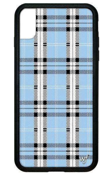 tartan iphone xs case