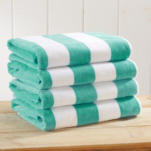 Highland Dunes Simone Velour 4 Piece 100 Cotton Beach Towel Reviews Wayfair In 2020 Beach Towel Set Beach Towel Towel Colors