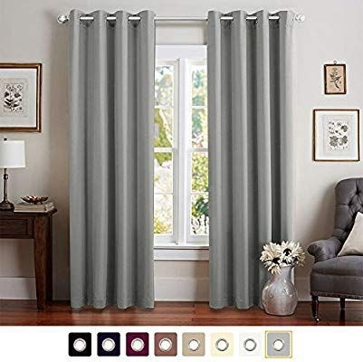 Amazon Com Moderate Blackout Curtains For Bedroom Room Darkening