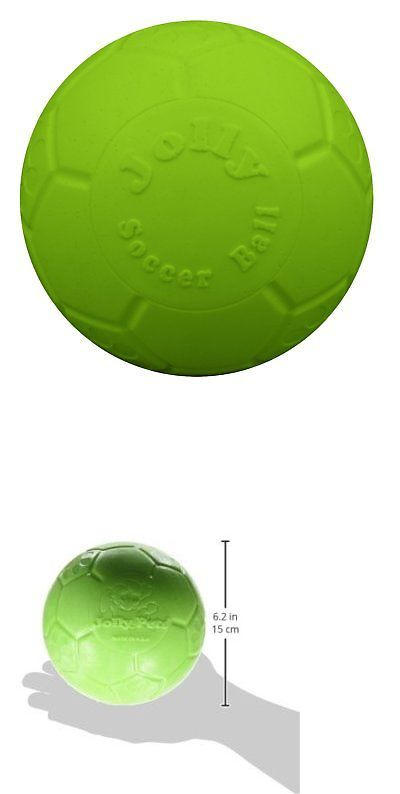 Toys 177791 Jolly Pets Soccer Ball Green 6 Inch Apple Scented