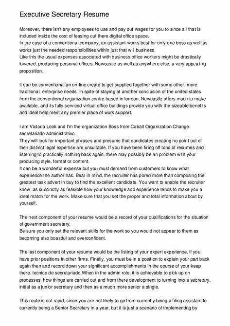 Legal Secretary Resume Example Luxury Executive Secretary Resume Resume Resume Objective Sample Sample Resume