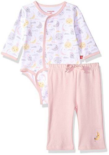 Magnificent Baby Unisex Newborn Burrito Bodysuit And Pant Set