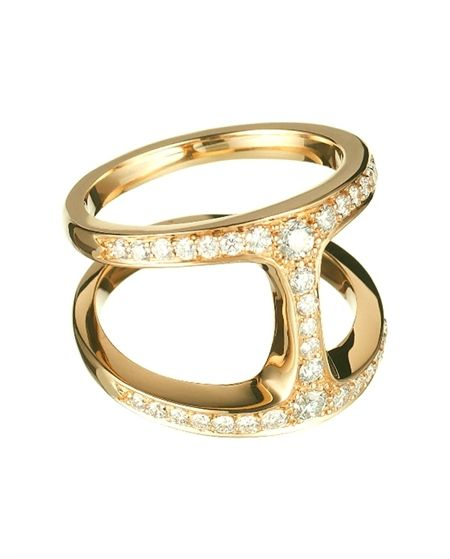 d77c061c 18K Dame Phantom Ring with Diamonds by Hoorsenbuhs