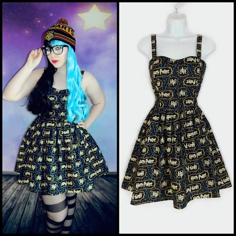 Custom Fit Harry Potter Dress   Harry potter dress, Kawaii