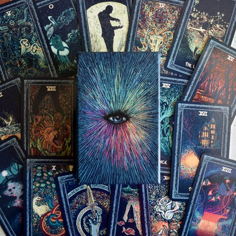 Prisma Visions Tarot | Little Red Tarot. Completely gorgeous