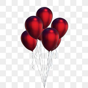 Globos Rojos Clipart Rojo Rojo Globos Png Y Psd Para Descargar Gratis Pngtree In 2021 Birthday Balloons Clipart Red Balloon Transparent Balloons