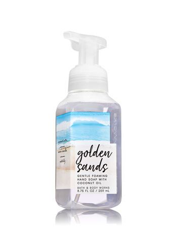 Golden Sands Gentle Foaming Hand Soap Bath And Body Works Bath