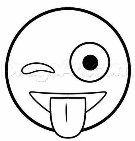 Emoticons Com Moldes Emojis Zeichnen Bleistift Einfach Emoji Gesichter