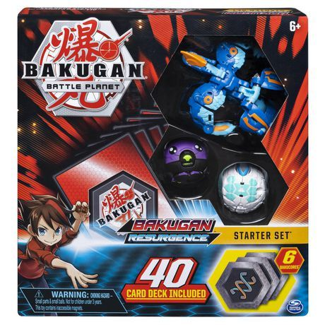 Bakugan Battle Brawlers Starter Set With Bakugan Transforming