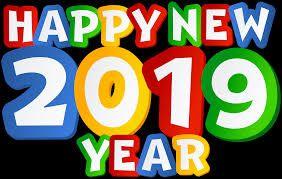 Happy New Year Logo 2019 87