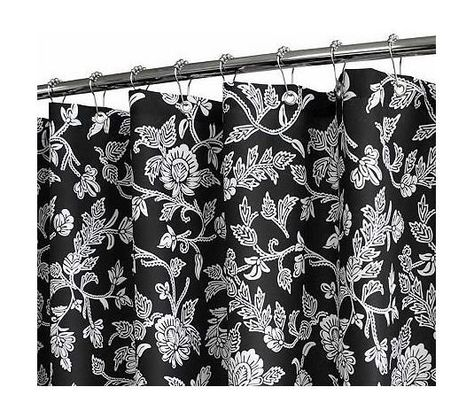 Watershed 2 In 1 Floral Swirl 72x72 Shower Curtain Qvc Com From