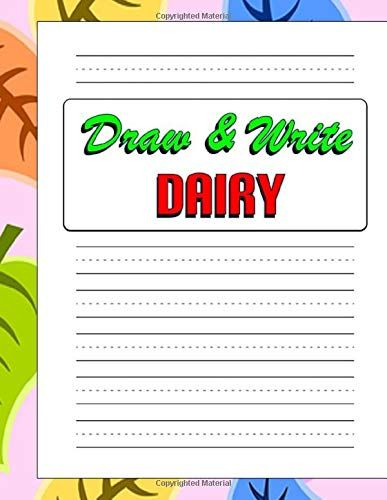 Draw And Write Dairy Kids 2 4 Learn To Draw And Write Notebook Drawing Journal Creative Writing Kids Drawing Drawing For Kids Kids Journal Journal Writing