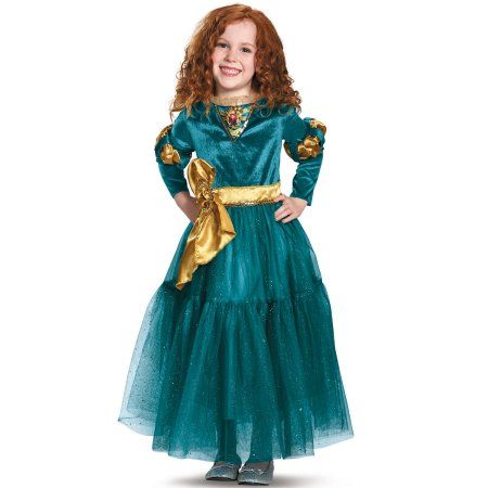 Disney Store Deluxe Brave Princess Merida Costume Dress Girls Toddler Size 2