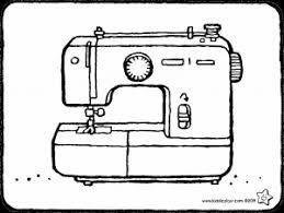 Machine A Coudre Coloriage Coloriage Image A Colorier Machine A Coudre