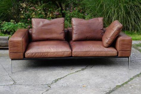 Designer Sofa Lifesteel Flexform Neuwertig Design Sofa Design Bequeme Sessel Wohnzimmer