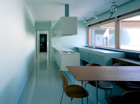 arne jacobsen atrium house renovated kitchen Indoors - die vorgefertigten wohnmodule odda erlauben odda