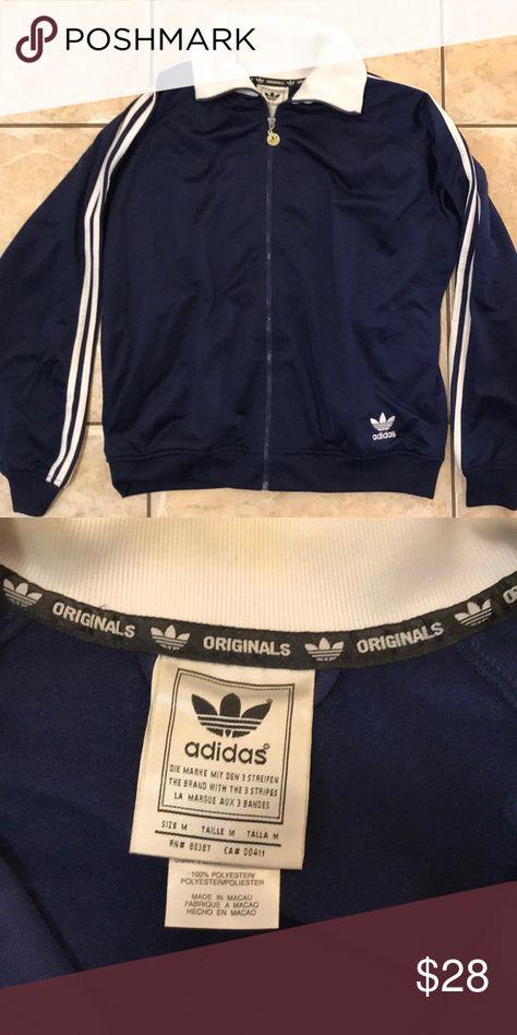 Navy Zip Up Hoodie Adidas BritishTown Yabancı Dil Kursu