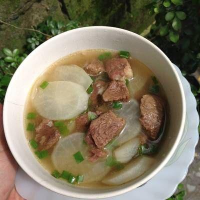 Sup Lobak Sapi Bening Simpel Ala Oma Lobak Resep Sup Sapi
